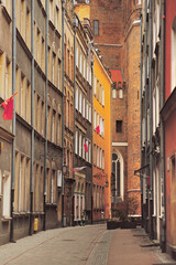 Fototapeta Old Gdańsk