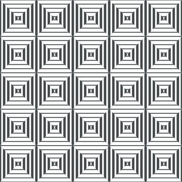 nahtlos Hintergrund, Tapete - dünne und dicke Streifen im Rhombus