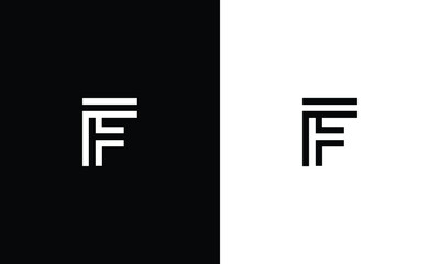 Abstract Letter F Illustration Design Template