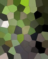Fototapeta Kompozycja abstrakcja wielokolorowe pola z teksturą obraz