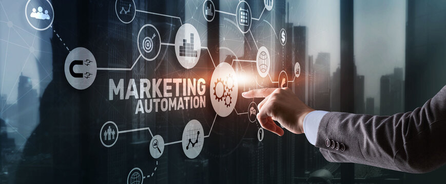 Marketing automation. Computer programs and technical solutions for automating the marketing processes enterprise