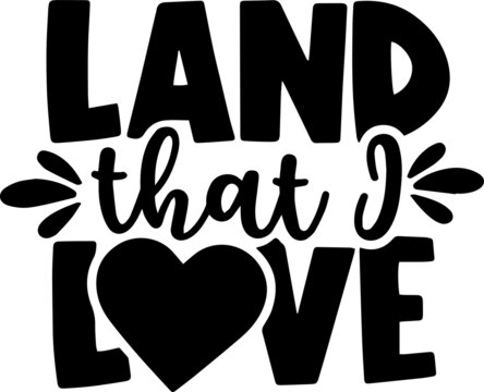 land that love background inspirational positive quotes, motivational, typography, lettering design