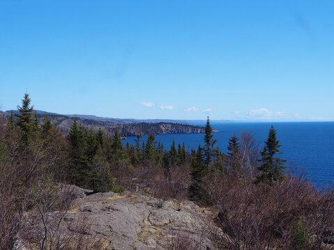 Lake Superior Coastline in Minnesota