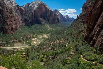 Fototapeta Zio National Park in Utah USA obraz