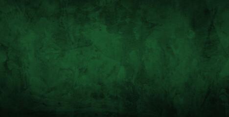 Dark green gradient watercolor background
