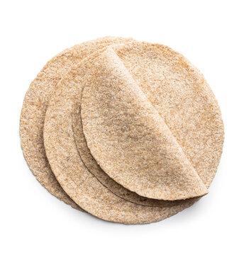 Whole grain tortilla wraps.