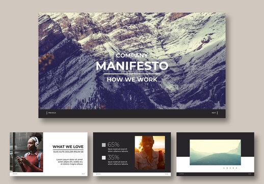 Interactive Online Publishing Deck