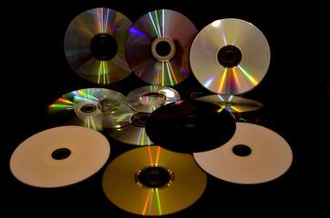 Fototapeta cd and dvd obraz