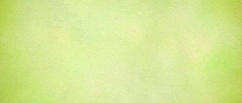 Abstract green background light colors, watercolor paper soft texture light