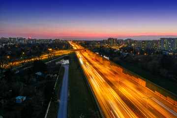 Fototapeta Droga S8, Warszawa, Polska