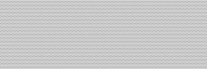 Fototapeta Dot pattern seamless background. Polka dot pattern template  Monochrome dotted texture obraz