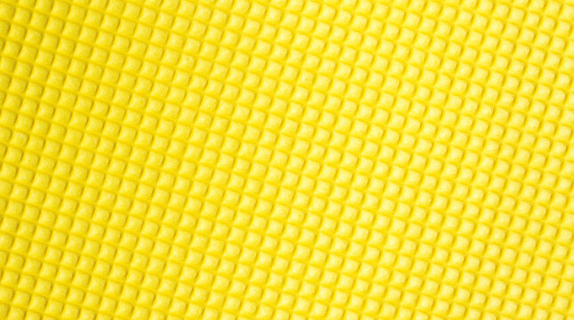 Close up of yellow foam for a background.