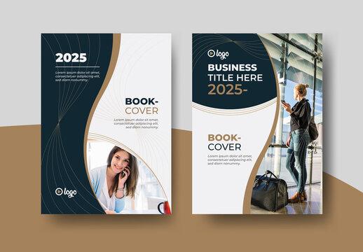 Book Cover Design Layout Premium Vector