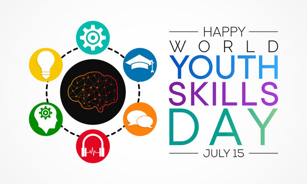 World Youth Skills Day (WYSD) is observed every year on July 15, aims to recognize the strategic importance of equipping young people with skills for employment, decent work and entrepreneurship.