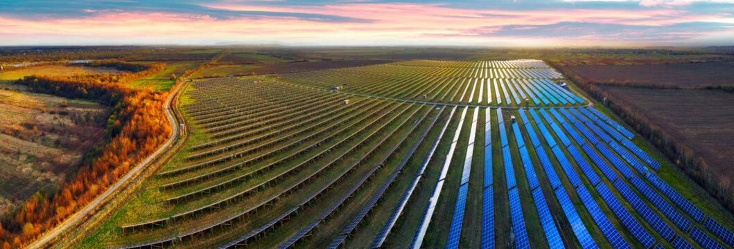 Solar panels of Ukraine