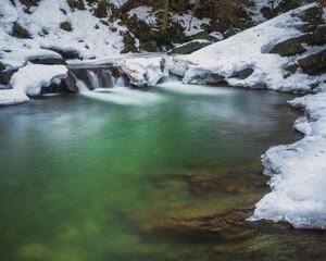 Fototapeta Roztopy w górach obraz