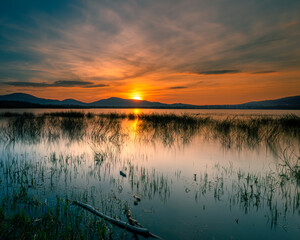 Fototapeta Magiczny zachód słońca obraz