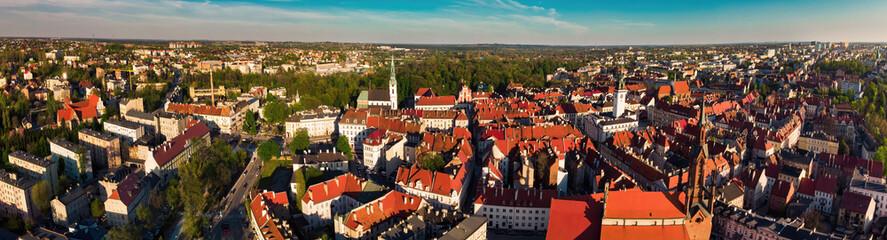 Fototapeta Kalisz panorama starego miasta Polska obraz