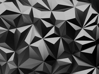 Fototapeta Chrome Metallic Glossy Futuristic Background obraz