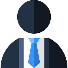 Obraz biznes ikona biznesmen - fototapety do salonu