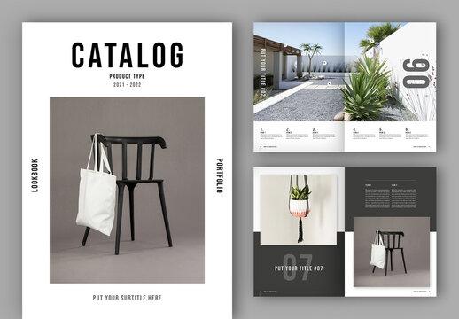 Catalog / Lookbook Layout