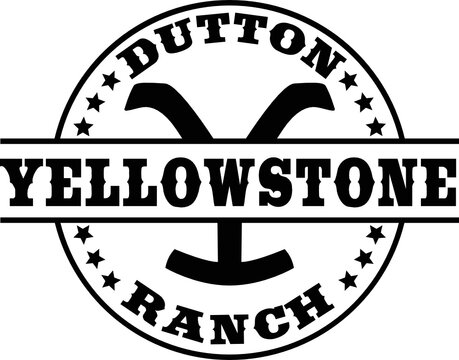 Yellowstone Dutton Ranch cutfile, SVG , Cricut, Silhouette