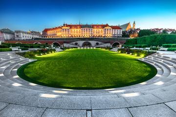 Fototapeta Warszawa zemek obraz