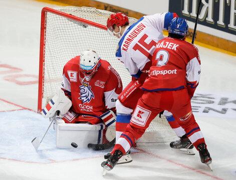 Euro Hockey Tour - Carlson Hockey Games - Czech Republic v Russia