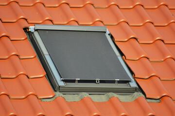 Fototapeta roleta zewnetrzna dachowa obraz