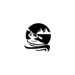 Obraz inspiration Rowing sport training vector icon,Boat with paddles vector icon, filled flat sign for mobile concept and web design, Rowing boat with oars glyph icon, Symbol, logo illustration, Vector gra - fototapety do salonu