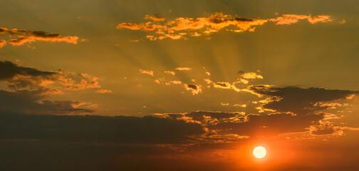 Fototapeta zachód słońca obraz