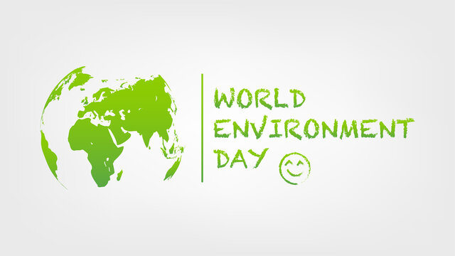 World Environment Day template and background, vector illustration