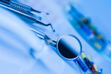 Stomatology equipment for dental care Wall mural