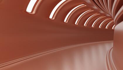 Obraz Abstract Architecture tunnel - fototapety do salonu