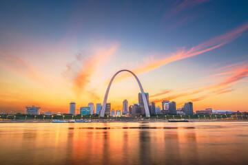 Obraz St. Louis, Missouri, USA - fototapety do salonu