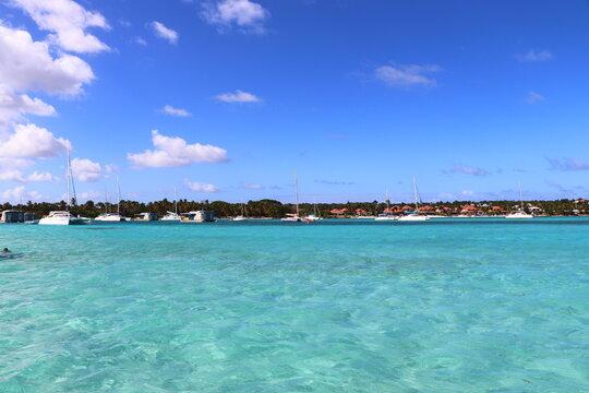 Lagon de Saint François Guadeloupe Antilles Françaises