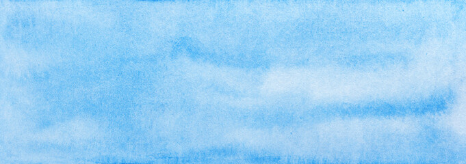 light blue watercolor blur background banner