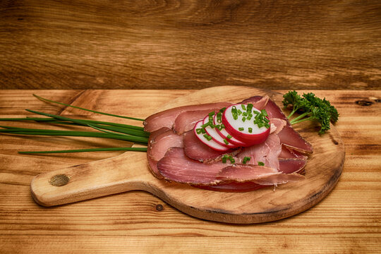pepper lunch prosciutto appetizing marbled delicatessen  rosemary