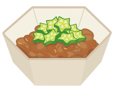納豆・オクラ納豆