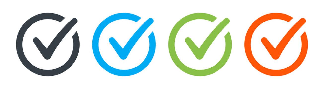 Check icon or correct choice sign.