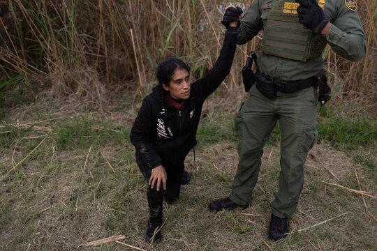 Migrants in La Joya,Texas