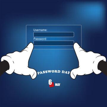 Happy event Password Day