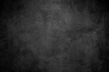 Obraz Rough Black wall slate texture rough background, dark concrete floor or old grunge background - fototapety do salonu