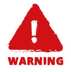 WARNING - fototapety na wymiar