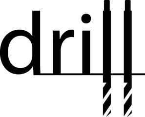 Tool shop sign logo idea