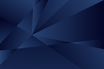 Obraz Dark BLUE vector blurry triangle template and Brand new colored illustration in blurry style with gradient and The best triangular design for your business.eps - fototapety do salonu
