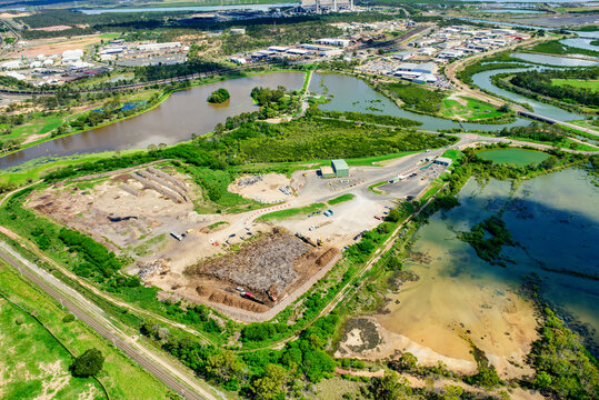 Gladstone recycling centre, Queensland