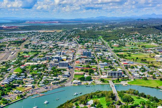 View of Gladstone CBD, Queensland