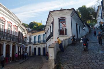 Miasteczko Ouro Preto w Brazylii (Minas Gerais), rok 2014