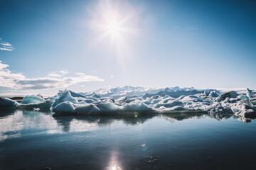 Vatnajökull, Islandia - fototapety na wymiar